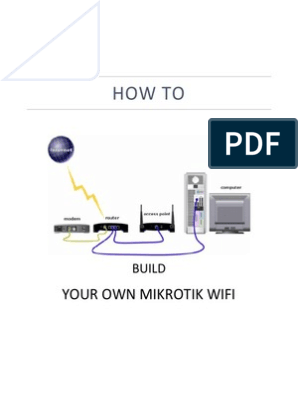 How to Build Your Own Mikrotik Wifi | Ip Address | Router (Computing)