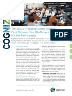 The SEC's Proposed Market Fund Reform