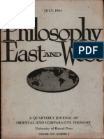 Philosophy East and West Year 1964 Month July