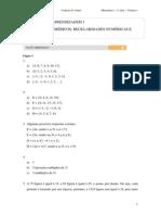 2009volume1 Cadernodoaluno Matematica Ensinomedio 1aserie Gabarito