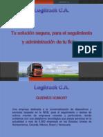 Presentacion Del Sistema Logitrack 2011 PDF