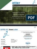 ISPRS-SC Newletter No.1, Vol.8 - June 2014
