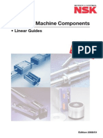 NSK Linear Guides Catalogue