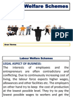 Labour Welfare Schemes