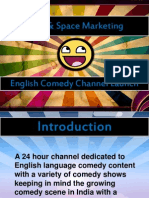 Comedy Unplugged_Time & Space Marketing
