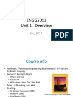 Engg2013 Unit 1