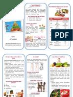 Leaflet Gizi Bayi Balita