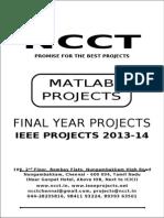 170951039 2013 14 IEEE Matlab Project Titles NCCT IEEE 2013 Matlab Project List