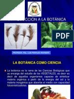 Introducción a La Botánica