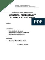 Control Adaptativo y Control Predictivo