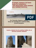 El Templo Románico de Santo Tomás de Canterbury, (Layana, Zaragoza) El Poder de Una Advocación Como Símbolo de Una Realidad Histórica.