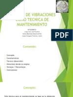 Analisis de Vibraciones Como Tecnica de Mantenimiento
