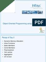 C++ Programming Slides from INFOSYS 03