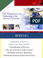 Services Marketing Unit 1 2014