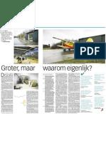 Volkskrant 25 November 2009