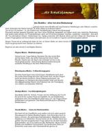 Die Handstellungen Des Buddha