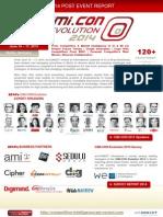 Post Event Report_CiMi.con Evolution 2014