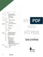HTC P3300 User Manual Hrvatska