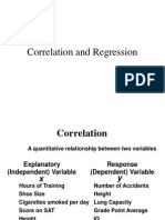 Correlation and Regression