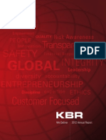 KBR 2012 Annual Report