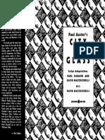 Auster Paul - City of Glass Graphic Novel