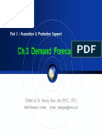 3. Demand Forecasting