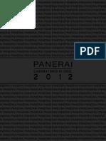 Panerai Catalogue 2012