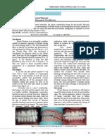 Esthetic Management of Dental Fluorosis