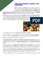 Una alimentación sana puede ayudar a los corredores de maratón.pdf