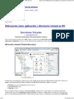 Diferencias entre aplicación y directorio virtual en IIS.pdf
