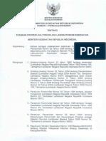 KMK 370 Tahun 2007 Tentang Standar Profesi Ahli Teknologi Laboratorium Kesehatan