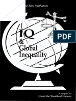 Richard Lynn Tatu Vanhanen IQ and Global Inequality