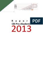 Sprawozdanie Za 2013 - RAPORT