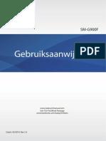 Galaxy S5 Manual SM-G900F UM Open Kitkat Dutch