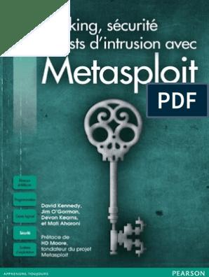 Hacking, Securite Et Tests d'Intrusion Avec Metasploit