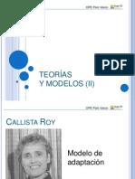 Teorias y Modelos (II)