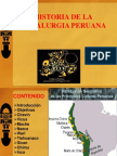 Hisria de La Metalurgia Antiguo Peru