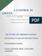 Presec Malaria Control in Ghana status 2