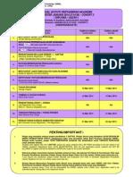 Jadual Aktiviti Akademik Unit Rekod MAC 2014 21434