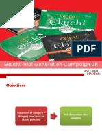 Elaichi Trial Generation Customer Acquisition