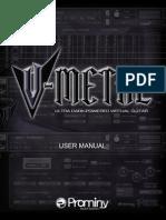 V METAL User Manual
