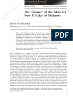 Article - Breaking the Silence of the Military Regime-New Politics of Memory in Brazil - Nina Schneider.pdf