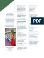 g k foster elementary school brochure