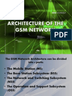 Architecture of the Gsm Network