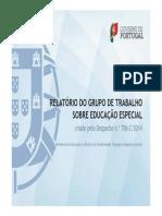 Novo Relatorio Educacao Especial-Maio 2014