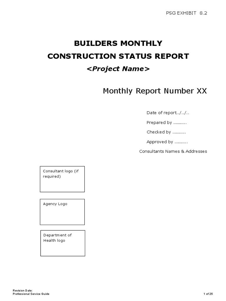 PSG Ex - 2111.211PSG Ex - 2111.211 - Monthly Report Template - Monthly Inside Ohs Monthly Report Template