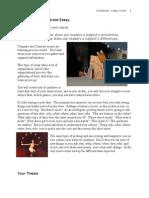 The Compare/ Contrast Essay