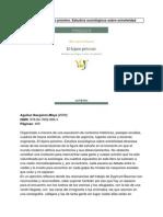 Aguiluz Estudios Sociologicos Sobre Extraneidad