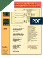 Datasheet ECM 3564 Analog 4pgv1 A80401 Press