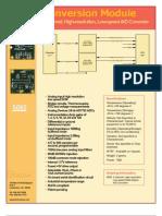 Datasheet ECM 5085 Analog 4pgv1 A80901 Press